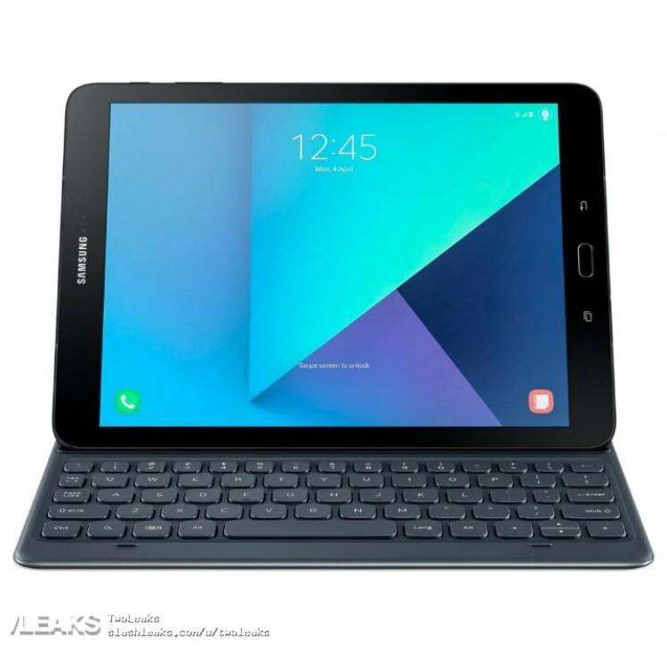 img Galaxy Tab S3 with keyboard renders leaked by Evan Blass