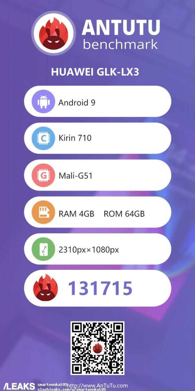 img Huawei Nova 5i AnTuTu Specs Leaked