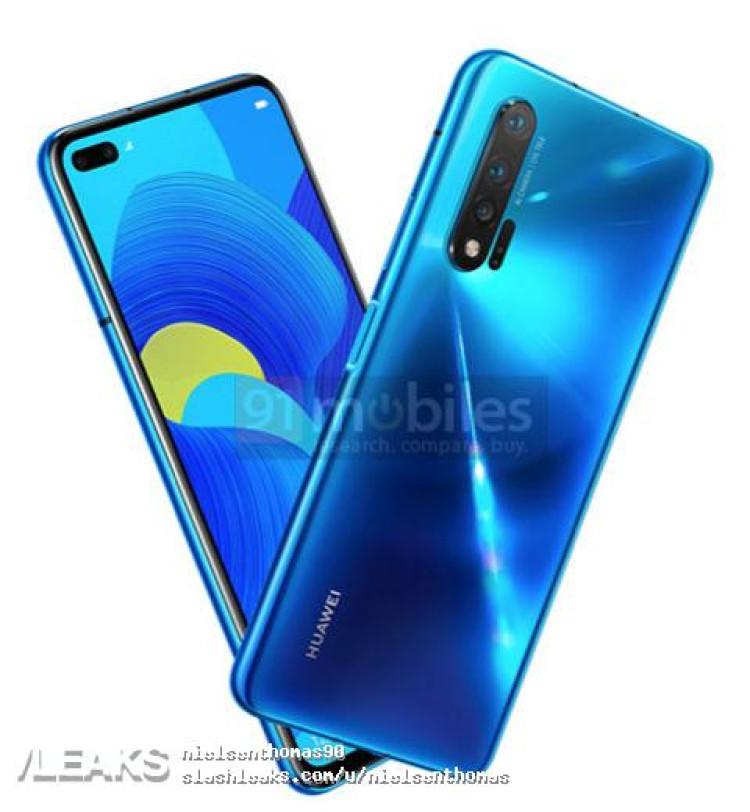 img Huawei Nova 6 5G Render Leaked
