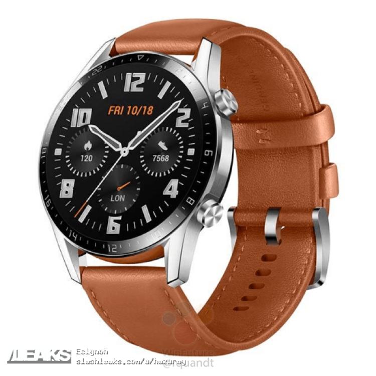img Imagens oficiais do marketing do Huawei Watch GT 2
