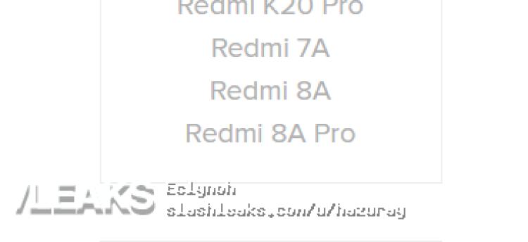 img Redmi 8A Pro found on mi.com