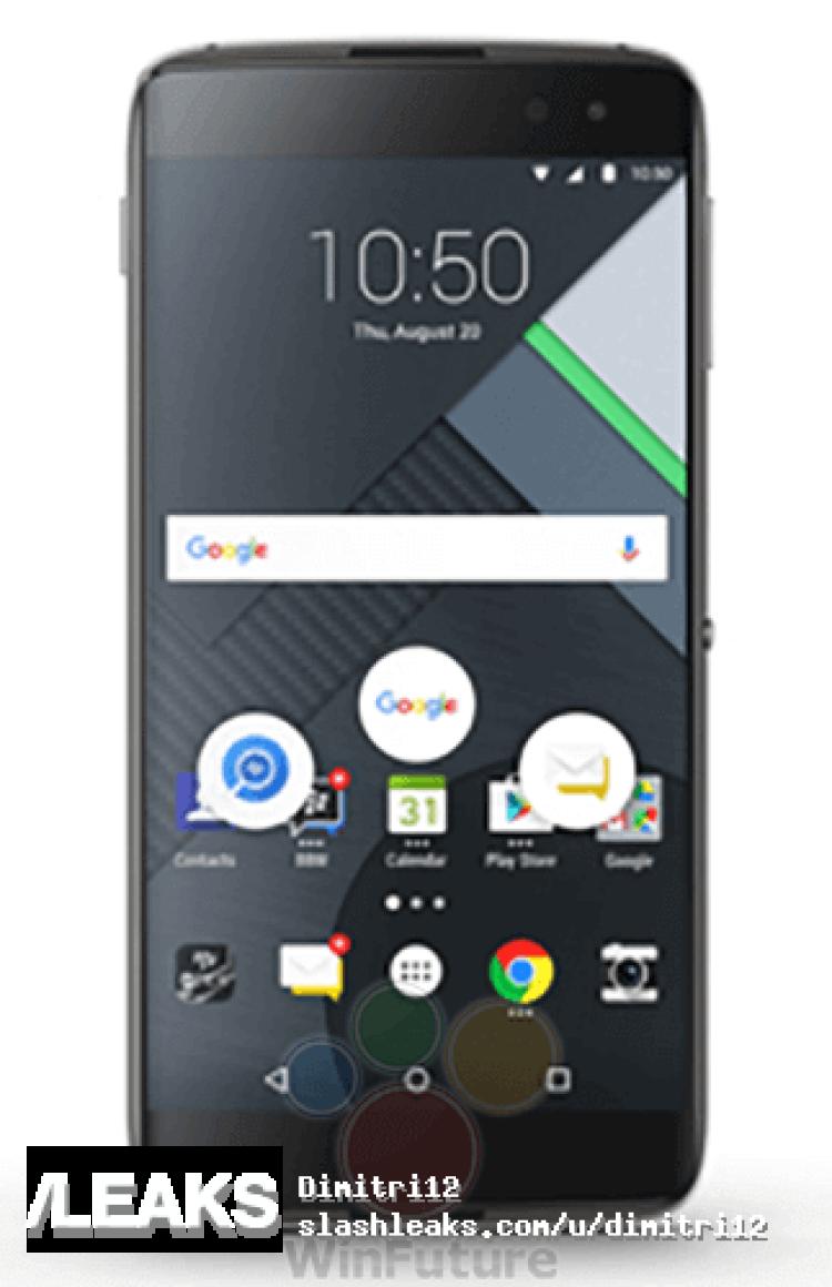 img BlackBerry DTEK60 renders surface