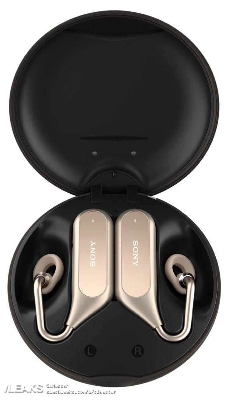 img Sony Xperia Ear Duo Wireless Earphones Leaked