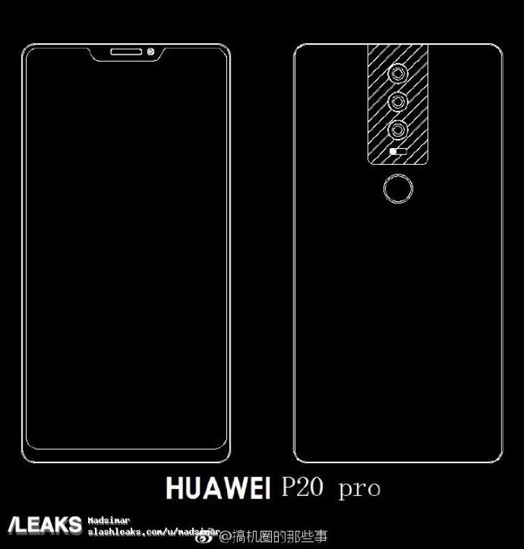 img schematics Huawei P20 pro patent