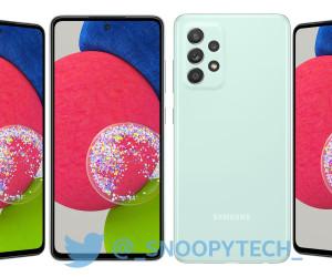 Galaxy A52s Renders