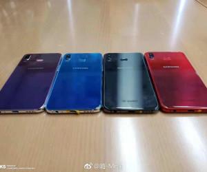 Galaxy P30 (Galaxy Phoenix) hand on leaked