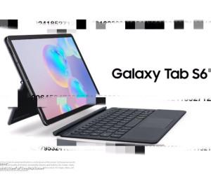 Galaxy Tab S6 press renders leaked