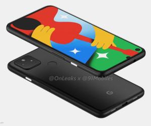 Google Pixel 4a 5G 360-degree renders by @OnLeaks