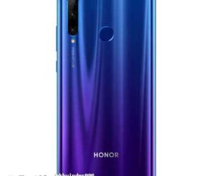 Honor 20 Lite leak