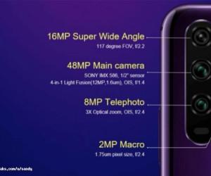 Honor 20 pro camera specs