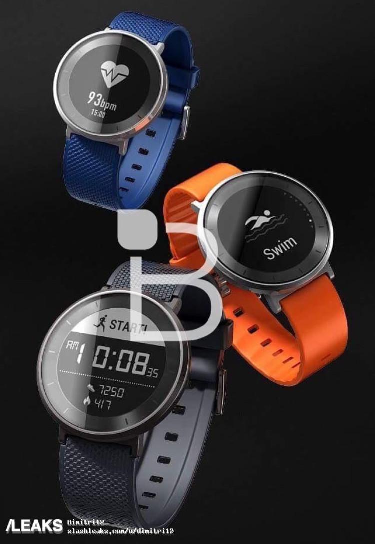 img Official looking Huawei Fit smartwatch renders leaked