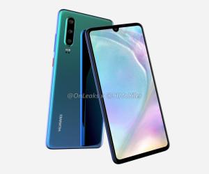 Huawei P30 renders by Onleaks