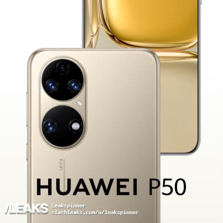 img Huawei P50 promo material leaked by @evleaks ahead of launch