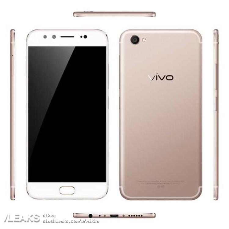 img Vivo X9 press render + full specs + price