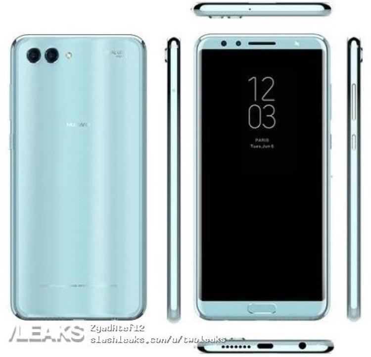 img Huawei Nova 2s press render + specs + price