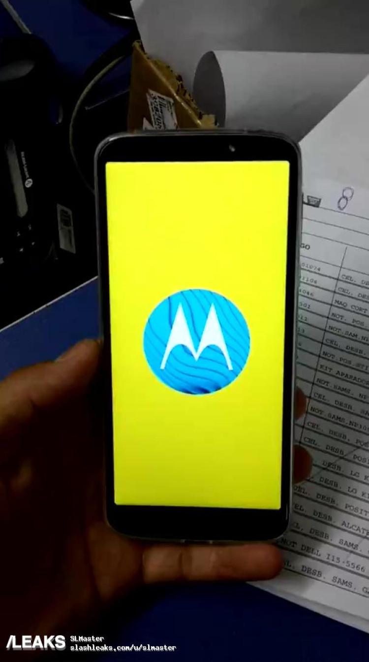 img Moto G6 Play Hands on video leak