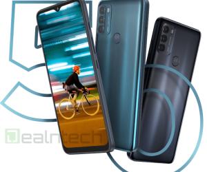 Motorola Moto G50 press renders leaked
