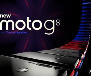 Motorola Moto G8's design leaked by EvLeaks