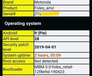 Motorola Moto Z4 unboxing video leaked « SLASHLEAKS