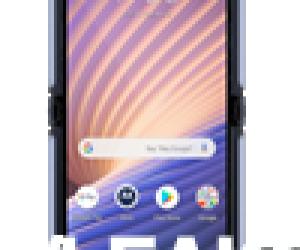 Motorola Razr 5G logo and front render leaks