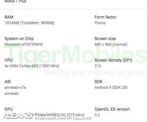 Nokia 1 plus render and key specs leaked