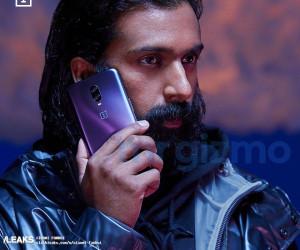 OnePlus 6T Thunder Purple colour variant Press Renders Leaked