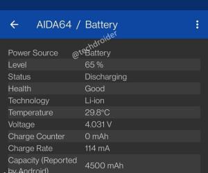 OnePlus 9 key specs leaked through AIDA64