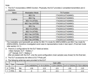 Pixel 3 Lite specifications via Fcc