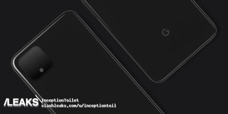 img Pixel 4 official back render