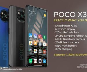 POCO X3 Render (no watermark)