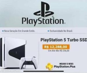 PS5 design leak in webpage