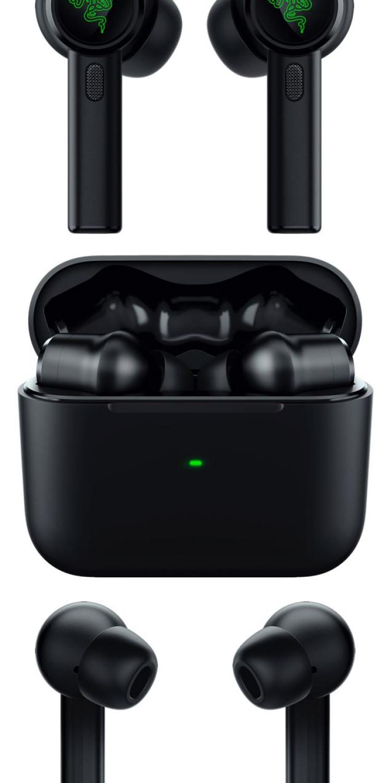img Razer Hammerhead True Wireless Pro Earbuds renders leaked