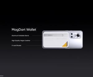 Realme Flash with MagDart Wallet press renders leaked by @Onleaks