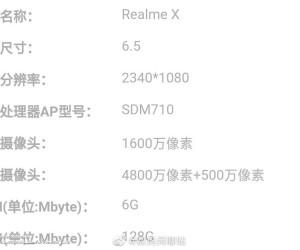 Realme X color