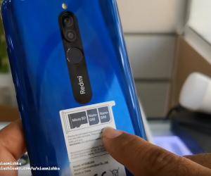 Redmi 8 4+64GB unboxing
