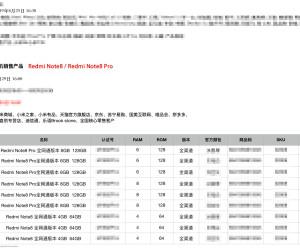 Redmi Note 8 & Note 8 Pro prices