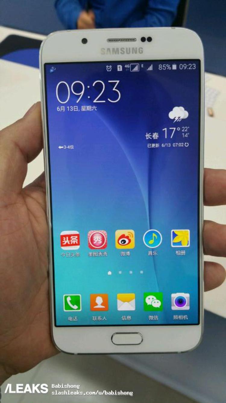 img Samsung Galaxy A8 leaks in full!