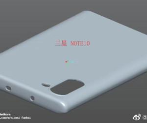 Samsung Galaxy Note 10 case 3D design shows no Bixby button & Headphone Jack