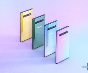 Samsung Galaxy Note 10 Renders