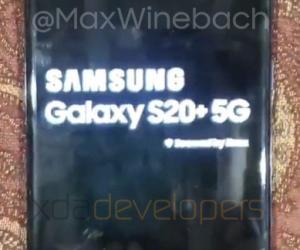Samsung Galaxy S20+ 5G Real Life Image