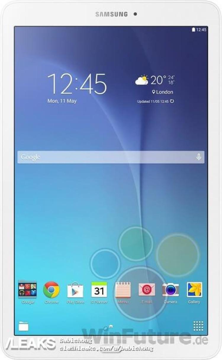 img Samsung Galaxy Tab E 9.6 leaks again