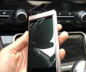 Samsung W2019 caught in the wild