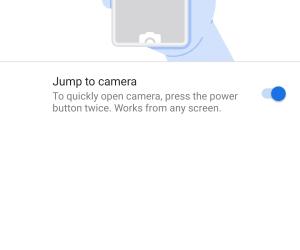 Jump to Camera
