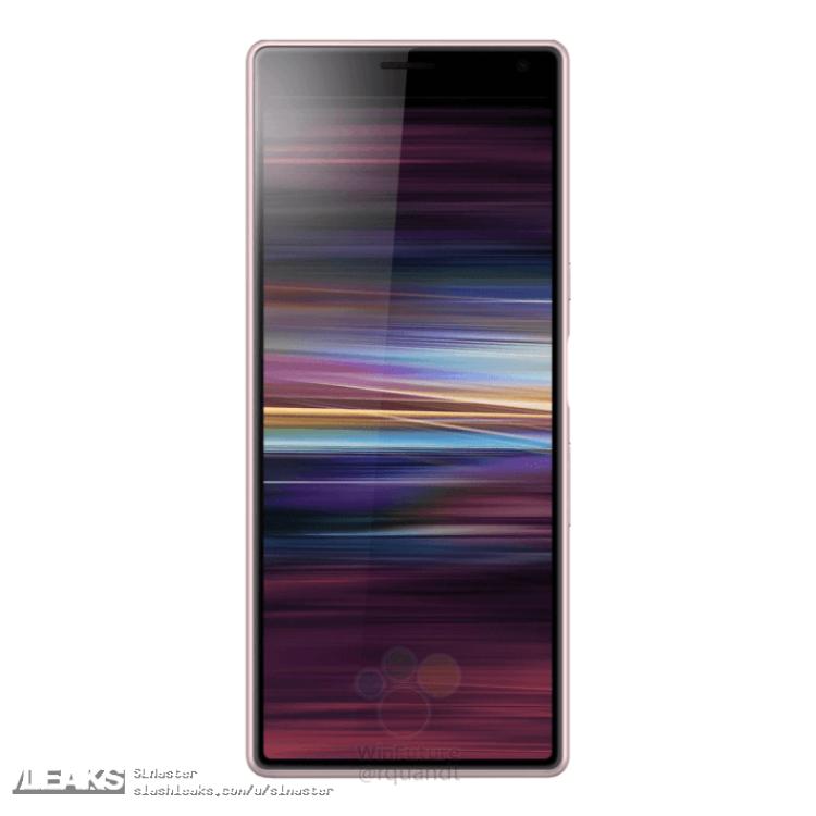 img Sony Xperia XA3 render leaks