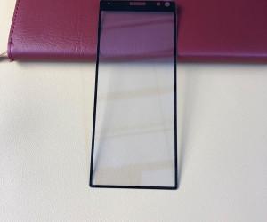 Sony Xperia XA3 screen protector leaked
