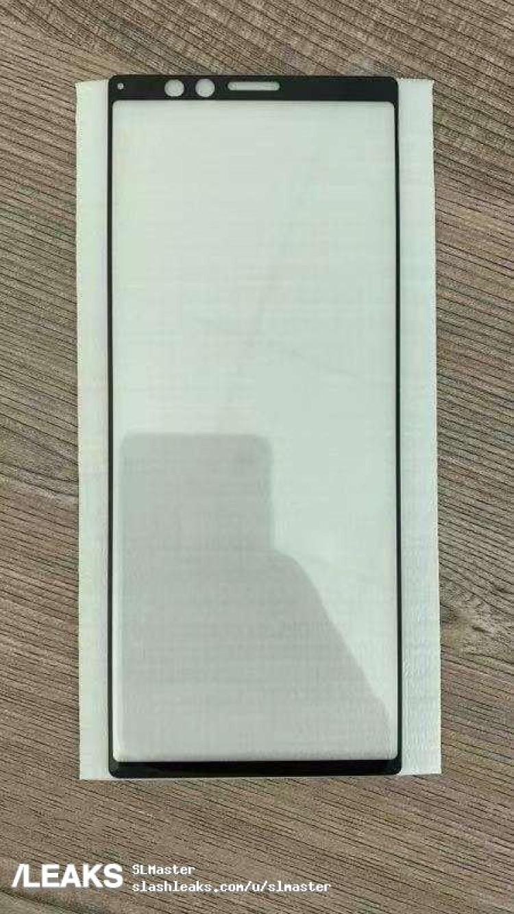 img Sony Xperia XZ4 screen protector leaked [UPDATED: Xperia 1]