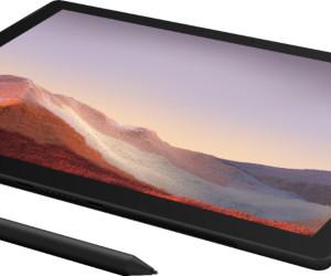 Surface Pro 7 Black Renders