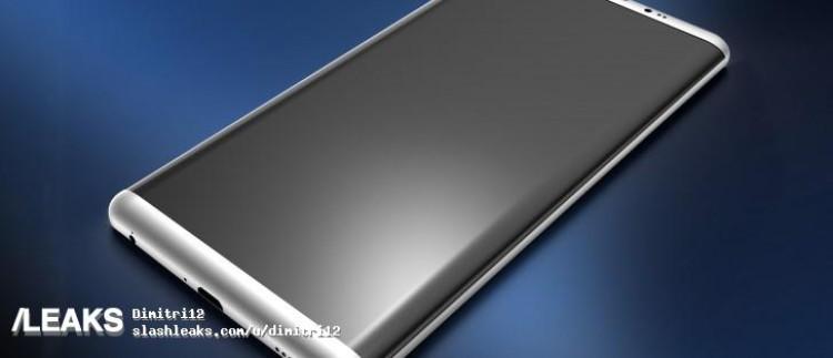 img Alleged Galaxy S8 3D renders leaked