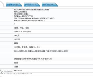 Unknown Meizu M928Q specifications