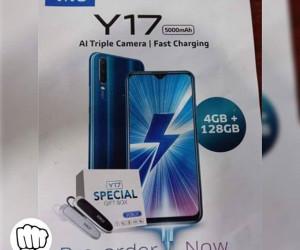 Vivo Y17 poster reveals key specs